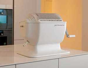 A washing machine small enough to put on a countertop. Image: Gentlewasher via ASME