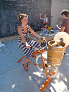 pedal powered ice cream